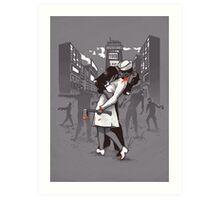 Z-Day Art Print