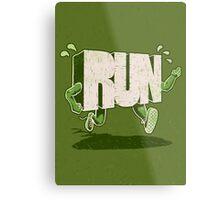 Run! Metal Print