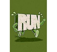 Run! Photographic Print