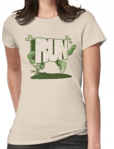 Run! Womens Fitted T-Shirt