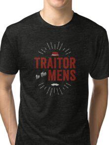 Traitor to the Mens (Dark) Tri-blend T-Shirt