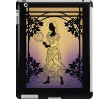 Silhouette Rapunzel iPad Case/Skin