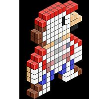 Sawed Off Mario (Cross Section) Photographic Print
