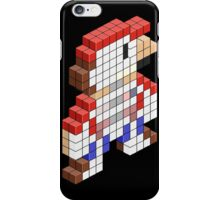 Sawed Off Mario (Cross Section) iPhone Case/Skin