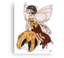 Orange Fairy Canvas Print