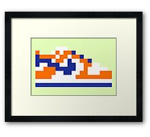 8-bit Kicks (Supa) Framed Print