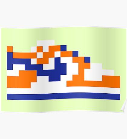 8-bit Kicks (Supa) Poster