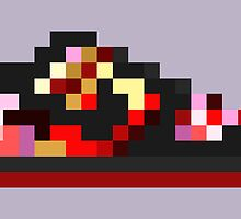 8-bit Kicks (Pushead) by pixelfart
