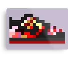 8-bit Kicks (Pushead) Metal Print