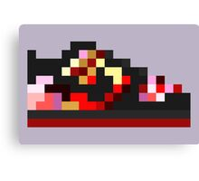 8-bit Kicks (Pushead) Canvas Print