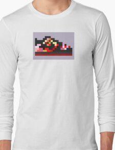 8-bit Kicks (Pushead) Long Sleeve T-Shirt