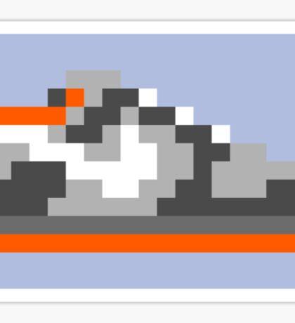 8-bit Kicks (Pigeon) Sticker