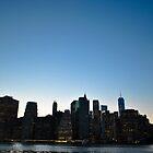 NYC at Night 2 by Gustavo Bernal
