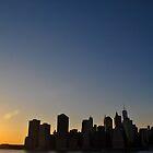 NYC at dawn by Gustavo Bernal