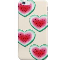 Summer Love - Watermelon Heart iPhone Case/Skin