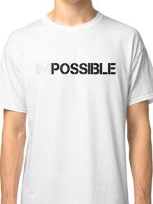 WORKOUT MOTIVATION 1 BLACK Classic T-Shirt