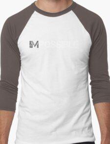 WORKOUT MOTIVATION 1 WHITE Men's Baseball ¾ T-Shirt