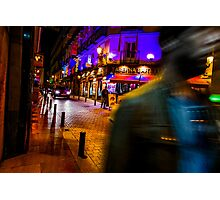 A Night in Madrid Photographic Print