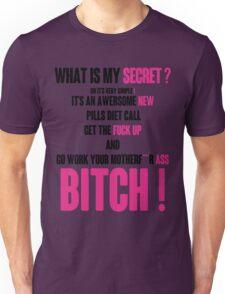 WHAT IS MY SECRET ? BLACK&PINK Unisex T-Shirt