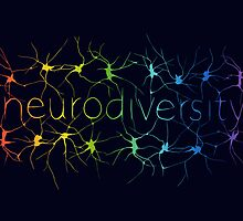Neuron Diversity - Classic Rainbow by amythests