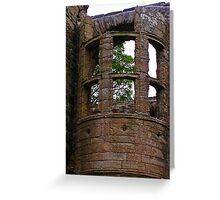 Window Embrasure, Earl's Palace, Kirkwall Greeting Card