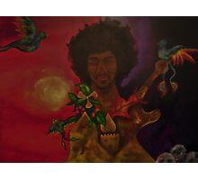 """Hendrix:Ascension"" Photographic Print"