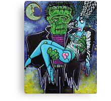My Monster My Bride Canvas Print