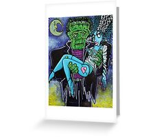 My Monster My Bride Greeting Card