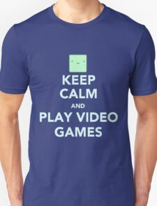 Keep calm and play videogames T-Shirt