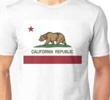 California Republic Flag Unisex T-Shirt