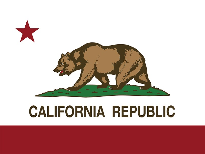 Quot California Republic Flag Quot Stickers By Norcal Redbubble