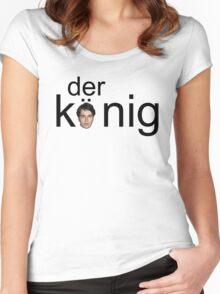 DER KÖNIG Women's Fitted Scoop T-Shirt
