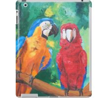 Macaw Parrots Chatter Boxes - Vertical- iPhone iPad iPad Case/Skin