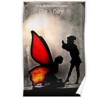 A Fairy and an Elf Poster