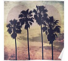 Heart and Palms Poster