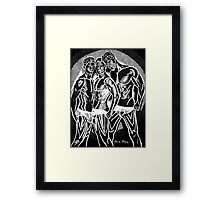 Hot Dude - The Boys Framed Print
