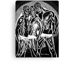 Hot Dude - The Boys Canvas Print