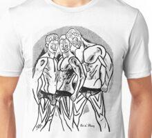 Hot Dude - The Boys - Wh/Blk Unisex T-Shirt