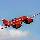 De Havilland DH88 Comet Racer G-ACSS by Colin Smedley