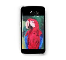Parrot Scarlet Macaw Tropical Bird - Samsung Covers Samsung Galaxy Case/Skin