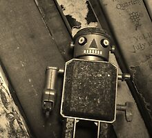 Old Robot by Barbara Morrison