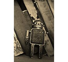 Old Robot Photographic Print