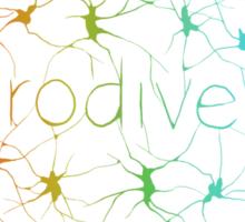 Neuron Diversity - Alternative Rainbow Sticker