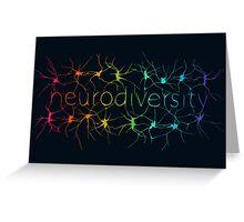 Neuron Diversity - Alternative Rainbow Greeting Card