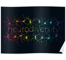 Neuron Diversity - Alternative Rainbow Poster