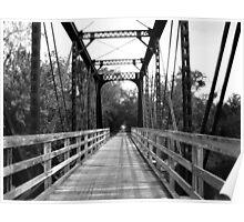 Wood and Metal Bridge 2 Poster