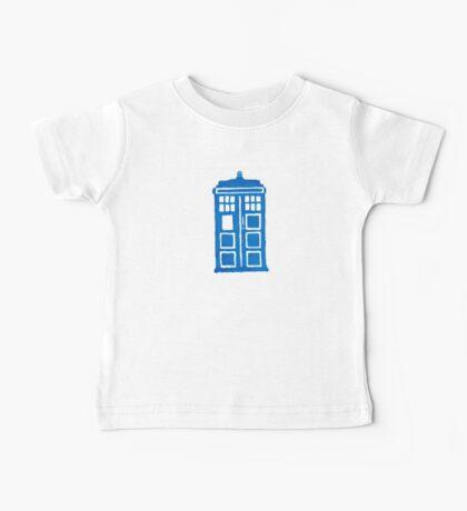 Big Blue Box Baby Tee