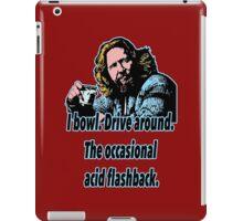 Big Lebowski 18 iPad Case/Skin