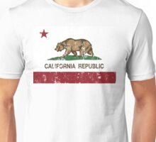California Republic Grunge Distressed  Unisex T-Shirt