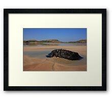 Ards Forest Park Beach Framed Print
